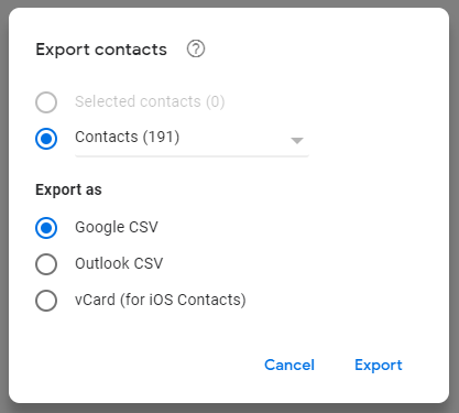 Import contact data from other sources | E-Z Contact Book